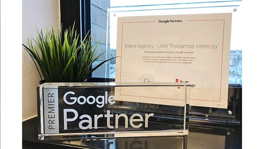 Intent Agency Google Premier Partner