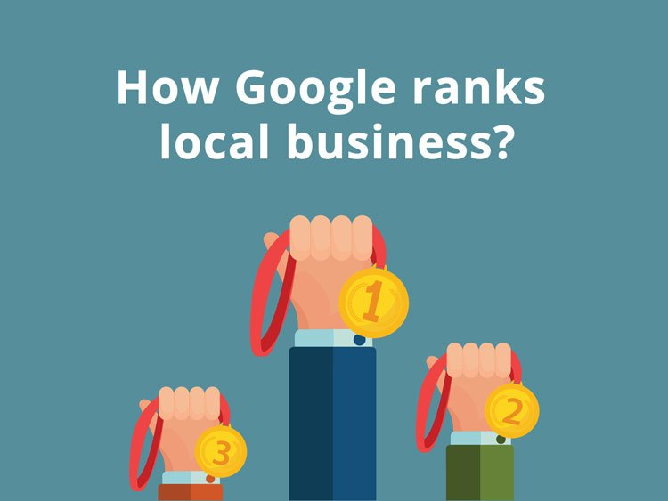 how google ranks local business