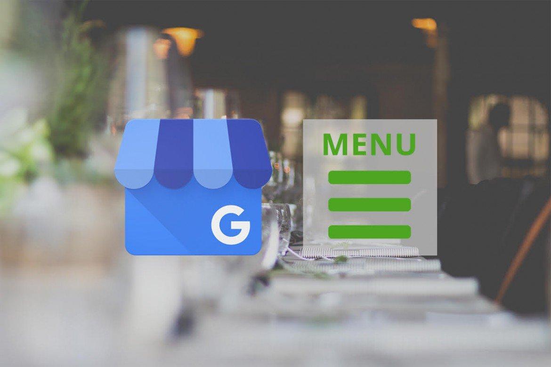 Google My Business New Feature Menu